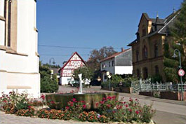 Daxweiler Kirchenplatz